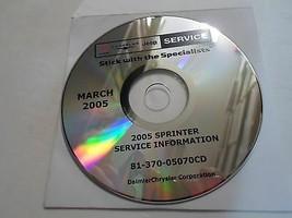 2005 Dodge Sprinter Truck Service Shop Reparatur Manual CD DVD Autohaus ... - $227.69