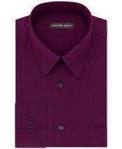 Geoffrey Beene Purple Ash Stripe Regular Fit Long Sleeve Dress Shirt 16 ... - $21.95