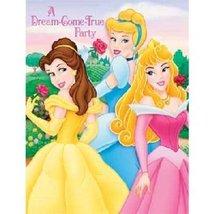 "Disney Fairytale Princess Birthday Party Invitations ""A Dream-Come-True Party"" N - $3.65"
