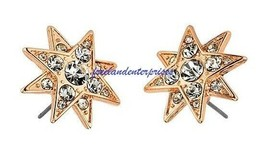 Earring Celestial Spirits Stud Earrings ~ Goldtone ~ Pierced NEW in Box ~ - $19.75