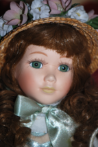 Country Girl Victorian Porcelain Doll by Seymour Mann - $25.00