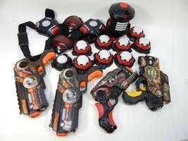 Wowwee Light Strike Laser Tag Pistol Blasters Vest Belt Clip ITS Target LOT - $118.79