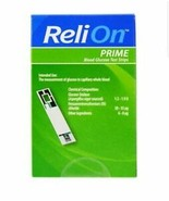 ReliOn Prime Blood Glucose Test Strips - 50 Count - $19.05
