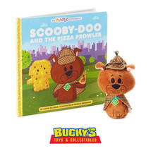 Hallmark Itty Bittys Story Book Set Scooby Doo and the Pizza Prowler Shaggy Fred - $29.64