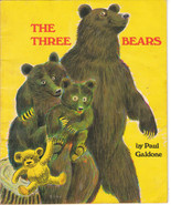 The Three Bears 1972 Paul Galdone Vintage Scholastic Paperback - $6.92
