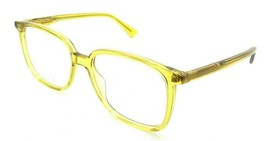 Gucci Eyeglasses Frames GG0260O 006 53-17-145 Yellow Made in Italy - $245.00