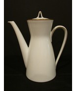 "Rosenthal Porcelain Germany White/Gold Coffee Pot in the ""Classic Gold"" ... - $20.00"