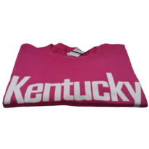 Kentucky XL T-Shirt Pink Port & Company Cotton Short Sleeve Crew Neck Sh... - $19.19