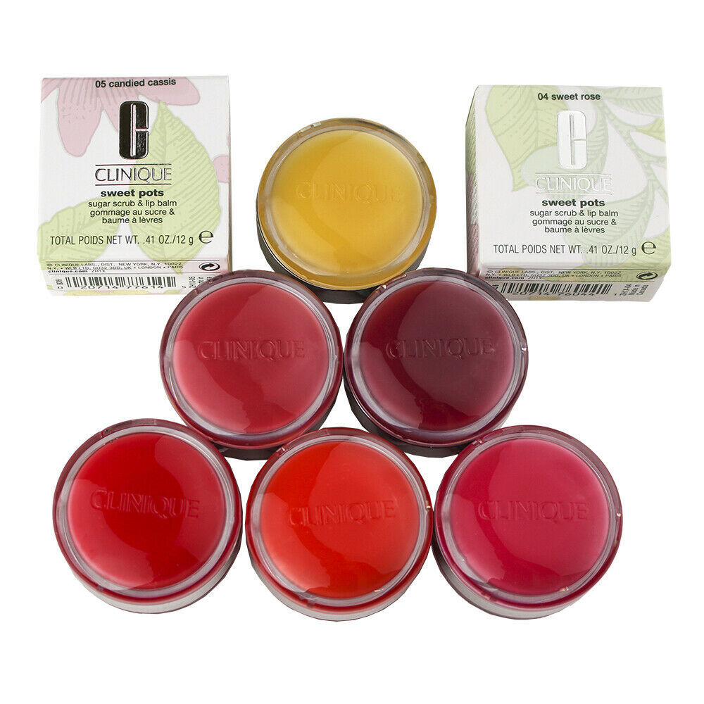 Primary image for Clinique Sweet Pots Sugar Scrub & Lip Balm .41oz/12g