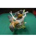 Great Collectible KNOWLES Bird Figurine THE BALTIMORE ORIOLE by Kevin Da... - $28.30