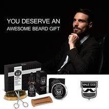 Beard Kit Beard Care & Grooming Kit for Men Gifts, Natural Organic Beard Oil, Be image 5