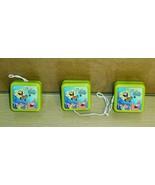 2003 Spongebob Squarepants- Lot of 3 Square YoYos - $4.95
