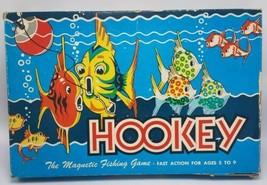 1956 Vintage Hookey Magnetic fishing Board Game Cadaco Ellis  - $19.95