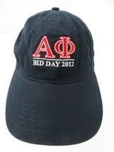 Bid Day 2012 Adjustable Adult Cap Hat - $12.86