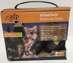 """Pet All Road Boots Sz Small (2"""") Neon Green & Gray 4 In Set  image 2"""