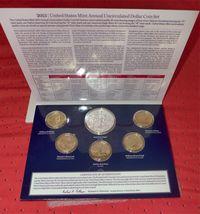 2013 W US Mint Set Unc Silver Dollar & Native American Golden + 4 Presidents XA5 image 4