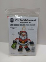 NMI Pin Pal Ornament Needlepoint Kit Christmas Santa Claus 5603 - $11.75