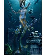 Mermaid Hunt Poster Print by Tom Wood, 24x36 - $32.00