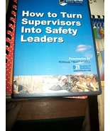 How to Turn Supervisors Into Safety Leaders CD-ROM - $29.65