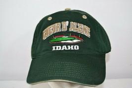 Coeur D' Alene Golf Course Idaho Green Baseball Cap Adjustable Back - $23.99
