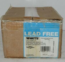 Watts Reduced Pressure Zone Assembly 3/4 Inch 0391003 Lead Free image 6