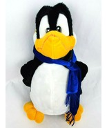 "Rhode Island Novelty Penguin 17"" Plush Bird Blue Scarf Large Stuffed Ani... - $25.40"
