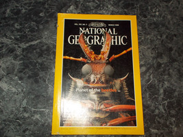 National Geographic Magazine March 1998 Planet of the Beetles - $2.99