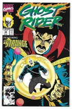 Copper Age 1991 Ghost Rider Comic 12 from Marvel Comics Dr. Strange - £2.21 GBP