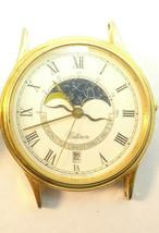 Citizen Moonphase Constellation Watch Runs For Vintage 1990 Restoration Or Part - $169.32