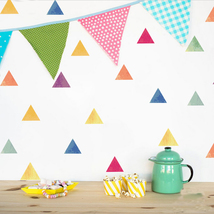 6pcs 14.8x21cm Colorful Birthday Party Decorative Wall Stickers Children... - $20.00