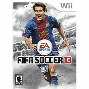 FIFA Soccer 13 2013 Nintendo Wii Wii U
