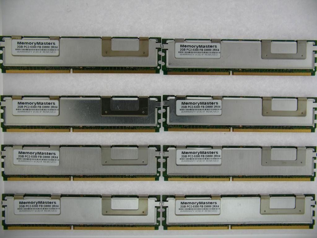 4GB 2X2GB KIT HP Hewlett Packard Workstation xw460c xw6400 xw6600 RAM MEMORY