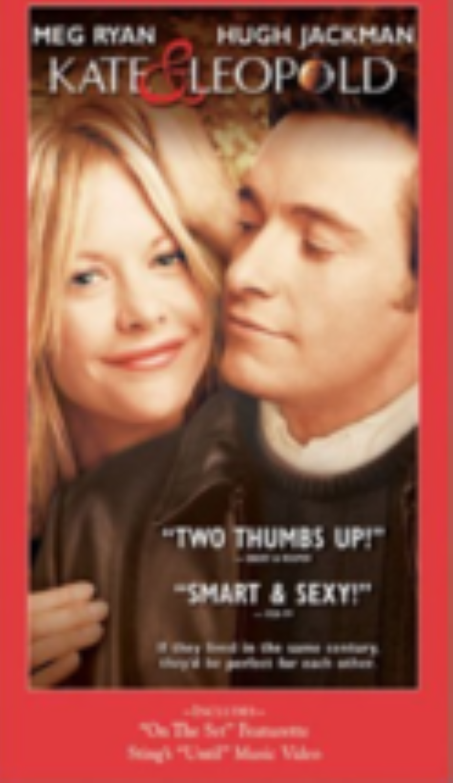 Kate and Leopold Vhs
