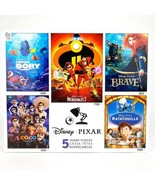 Disney Pixar 5-in-1 Jigsaw Puzzle Finding Dory Incredibles Ratatouille Coco - $56.17