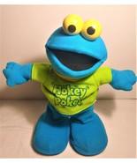 "Gemmy Cookie Monster Singing Animated 11"" Plush Hokey Pokey - $22.00"