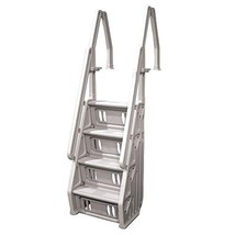 """Vinyl Works Deluxe In Step 46 - 60"""" Above Ground Swimming Pool Ladder, T... - $207.99"""