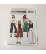 Butterick 4807 Size 14-20 Misses' Misses' Petite Pants Sash - $11.64