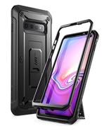 Galaxy S10 Plus Unicorn Beetle Pro Full Body Rugged Holster Case (Black) - $13.99