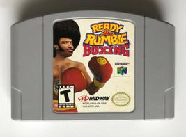 ☆ Ready 2 Rumble Boxing (Nintendo 64 1999) AUTHENTIC N64 Game Cart Works ☆ - $8.99