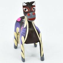 Handmade Alebrijes Oaxacan Copal Wood Carving Painted Folk Art Horse Figurine image 2