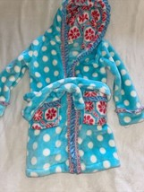 Matilda Jane Girl's Once Upon A Time Silver Pieces House Robe - sz S - $18.80