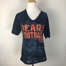 NFL Team Apparel Women's Short Sleeve Bears Football Shirt Size Large - $8.99