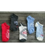 Coca-Cola Set of 5 No-show Women's Socks Drink Coca-Cola Shoe Size 4 - 1... - $7.67