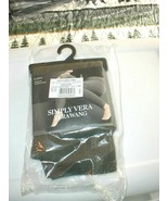 SIMPLY VERA VERAWANG, Denim Leggings With Rivets, Size XL, FREE USPS SHIP ! - $18.80