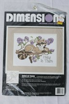Dimensions Hang In There No Count Cross Stitch Kit Vintage Lk Powell - $14.84