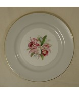 Noritake Margarita 5049 Vintage Dinner Plate 10in China Gold Rim - $25.48