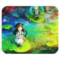 Mouse Pads Beautiful Water Girl Fairy Tale Vocaloid Hatsune Miku Japan Mousepads - $6.00