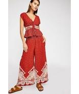 New Free People Babylon River Set Pants & Top $148 Rusty Orange XS, S, M  - $61.20