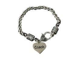 Coach Bracelet, Coach Charm Bracelet for Women, Coach Gift, Coach Jewelry - $15.00