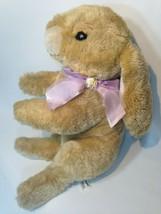 "Commonwealth Bunny Rabbit Plush Stuffed Furry Cottontail JUMBO Animal LARGE 17"" - $49.95"